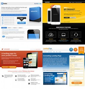 microsites landing pages