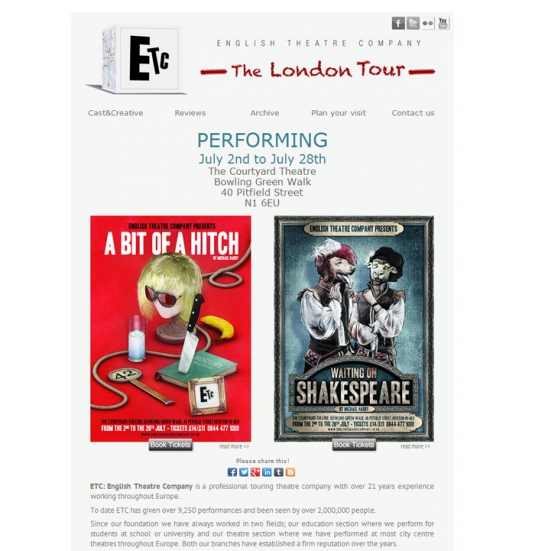 English Theatre in London