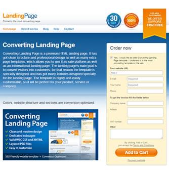 Landing Page 7