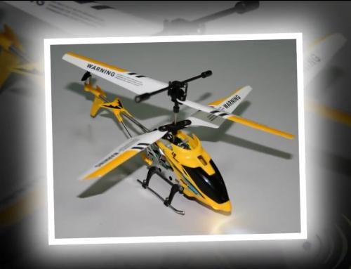 Vídeo presentación de producto – Helicóptero