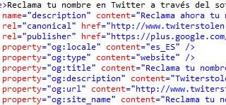 meta tag descripción