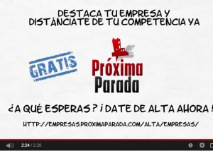 Video Promo Próxima Parada