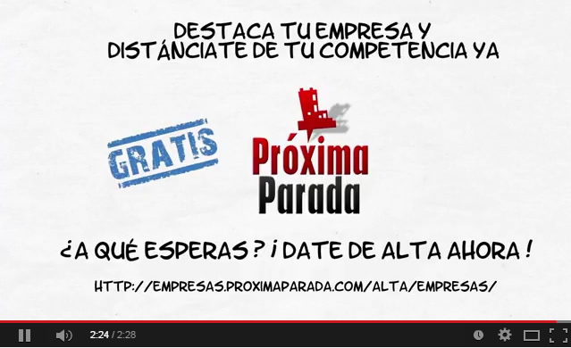 Video Promo Próxima Parada