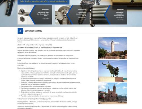 Diseño web wordpress Cerrajeriasitges.com