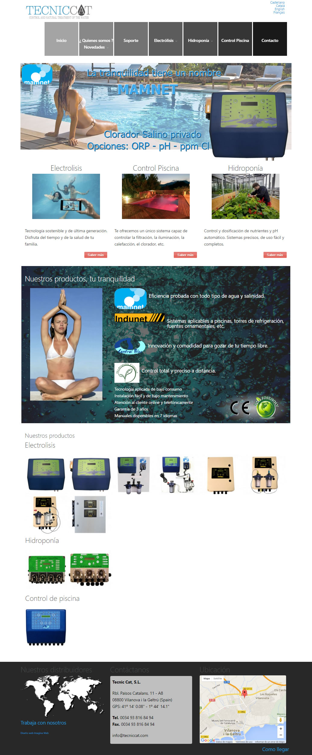 Página Web TecnicCat