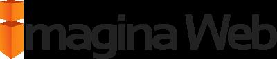 Diseño web, posicionamiento web Barcelona.  Imagina Web Sticky Logo Retina